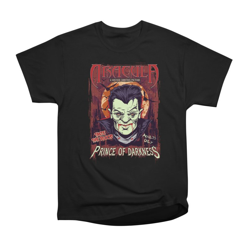 Prince Of Darkness Women's Heavyweight Unisex T-Shirt by Wicked Oddities