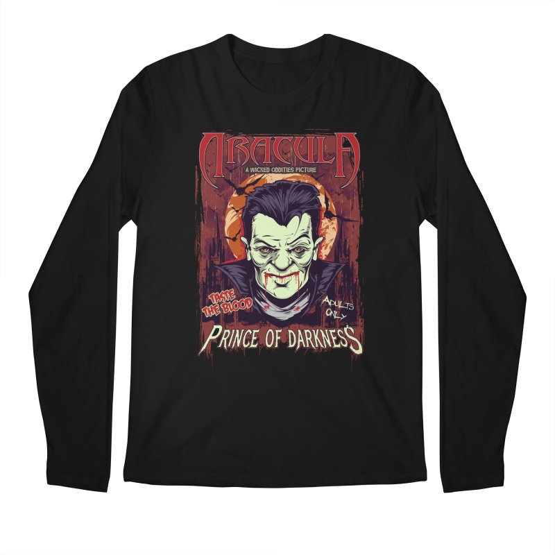 Prince Of Darkness Men's Regular Longsleeve T-Shirt by Wicked Oddities