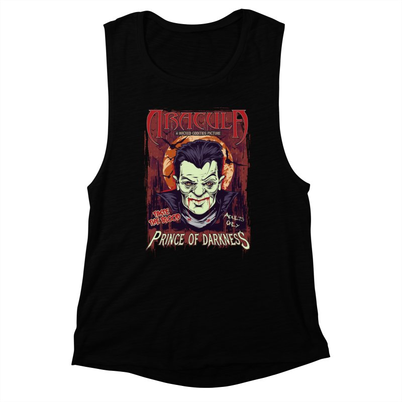 Prince Of Darkness Women's Muscle Tank by Wicked Oddities