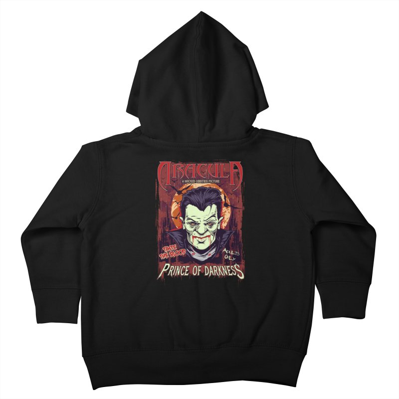 Prince Of Darkness Kids Toddler Zip-Up Hoody by Wicked Oddities