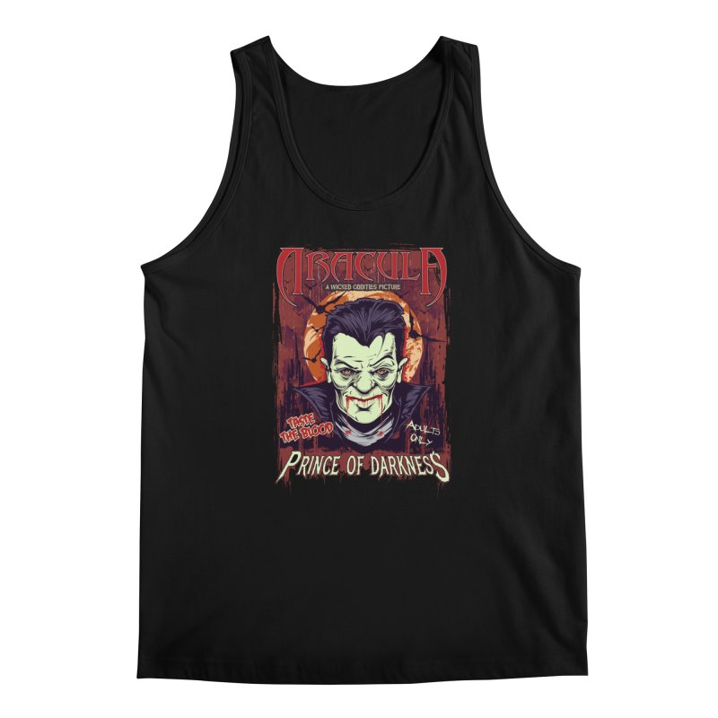 Prince Of Darkness Men's Tank by Wicked Oddities