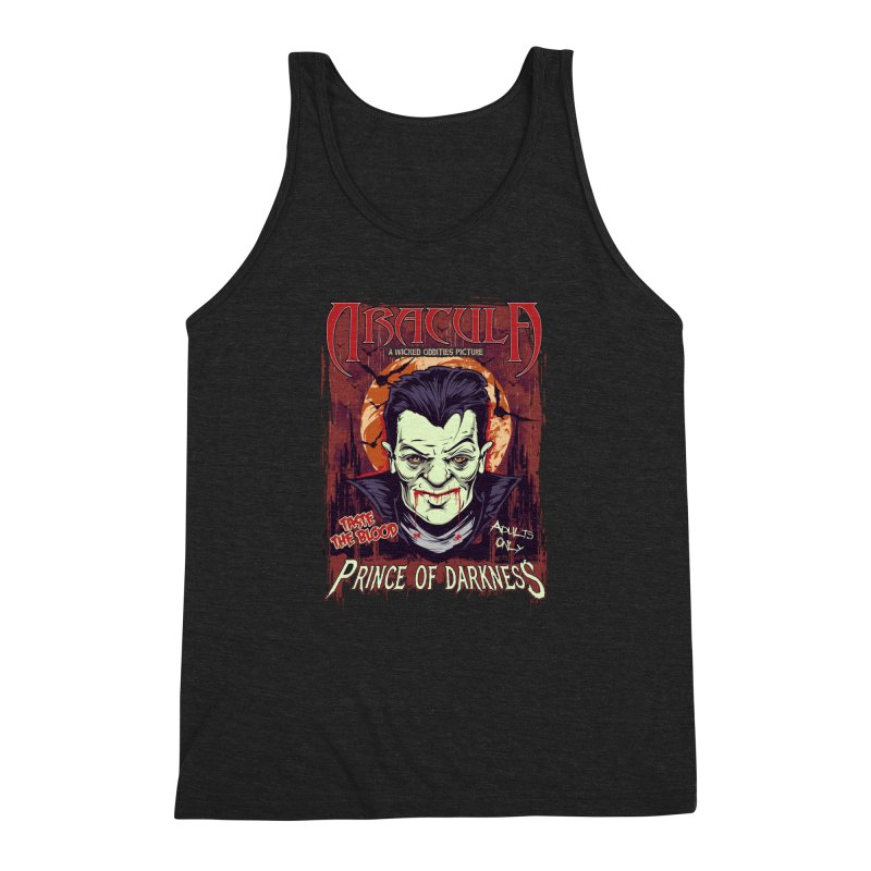 Prince Of Darkness Men's Triblend Tank by Wicked Oddities