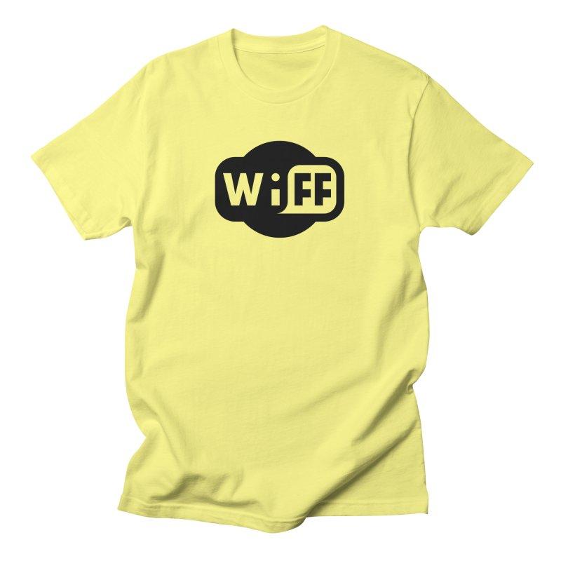 Wi-Fi Logo Men's T-Shirt by Wiff Merch Store