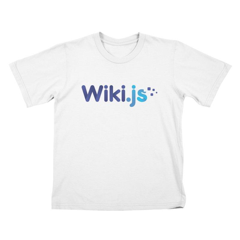 Wiki.js Logo Kids T-Shirt by Wiki.js Shop
