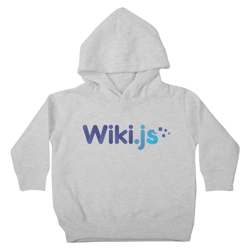 Wiki.js Logo Kids Toddler Pullover Hoody by Wiki.js Shop