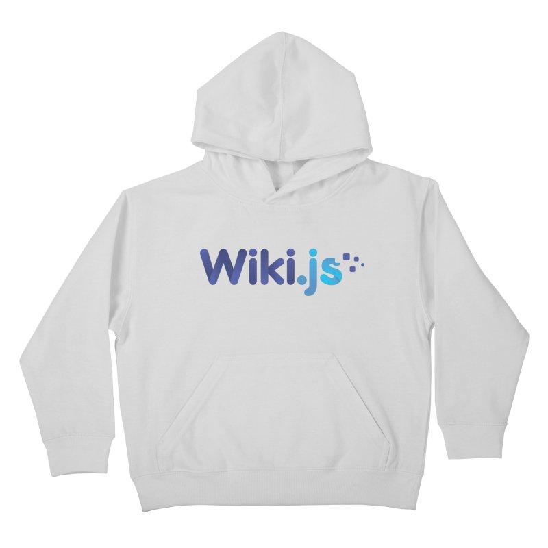 Wiki.js Logo Kids Pullover Hoody by Wiki.js Shop