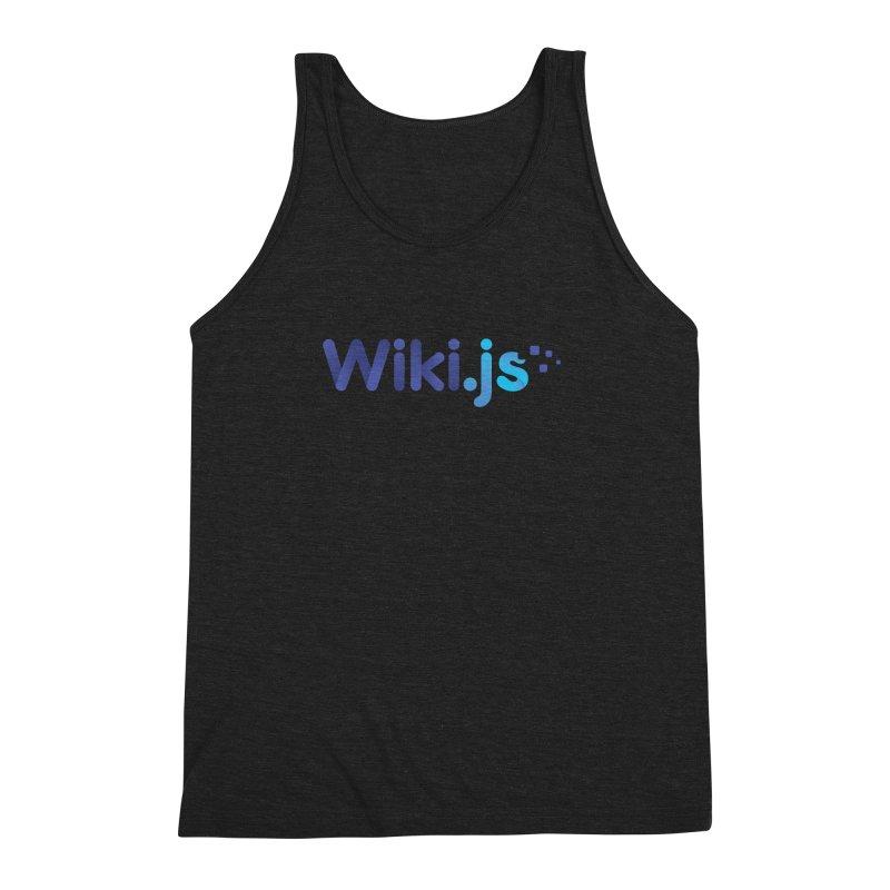 Wiki.js Logo Men's Triblend Tank by Wiki.js Shop