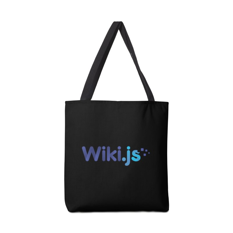 Wiki.js Logo Accessories Tote Bag Bag by Wiki.js Shop