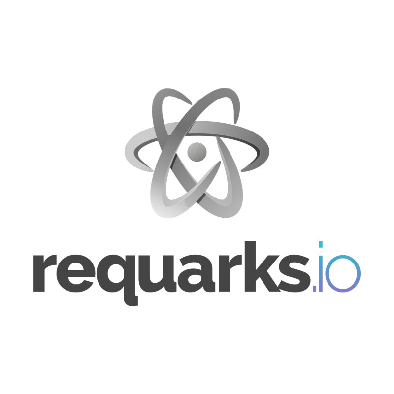 requarks.io Logo Kids Longsleeve T-Shirt by Wiki.js Shop