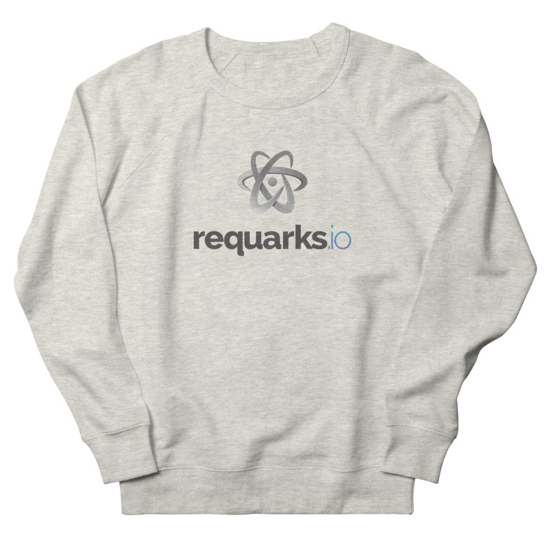 requarks.io Logo Women's French Terry Sweatshirt by Wiki.js Shop