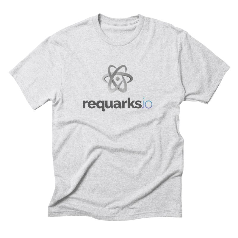 requarks.io Logo Men's T-Shirt by Wiki.js Shop