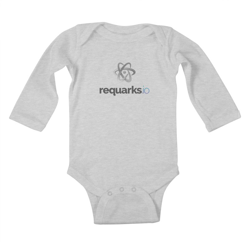 requarks.io Logo Kids Baby Longsleeve Bodysuit by Wiki.js Shop