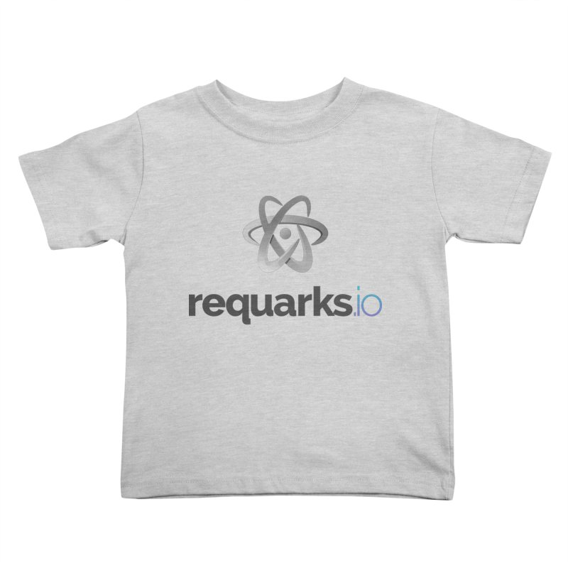 requarks.io Logo Kids Toddler T-Shirt by Wiki.js Shop