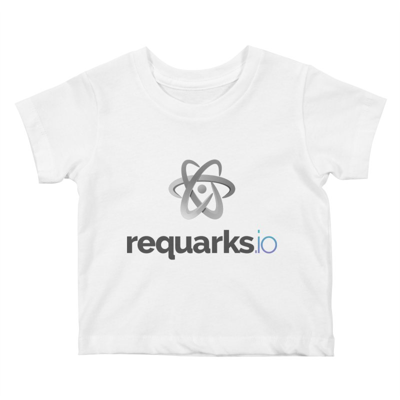 requarks.io Logo Kids Baby T-Shirt by Wiki.js Shop