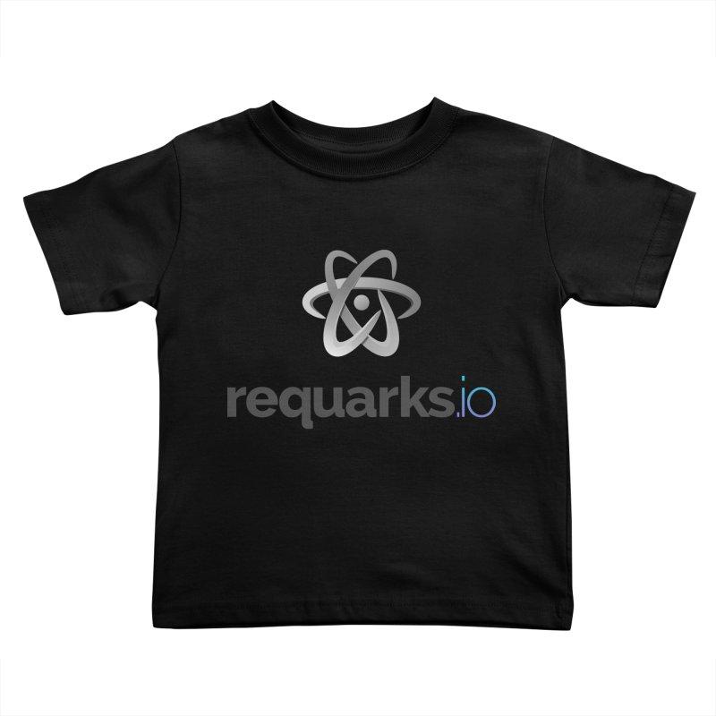 requarks.io Logo Kids Toddler T-Shirt by Wiki.js Shop
