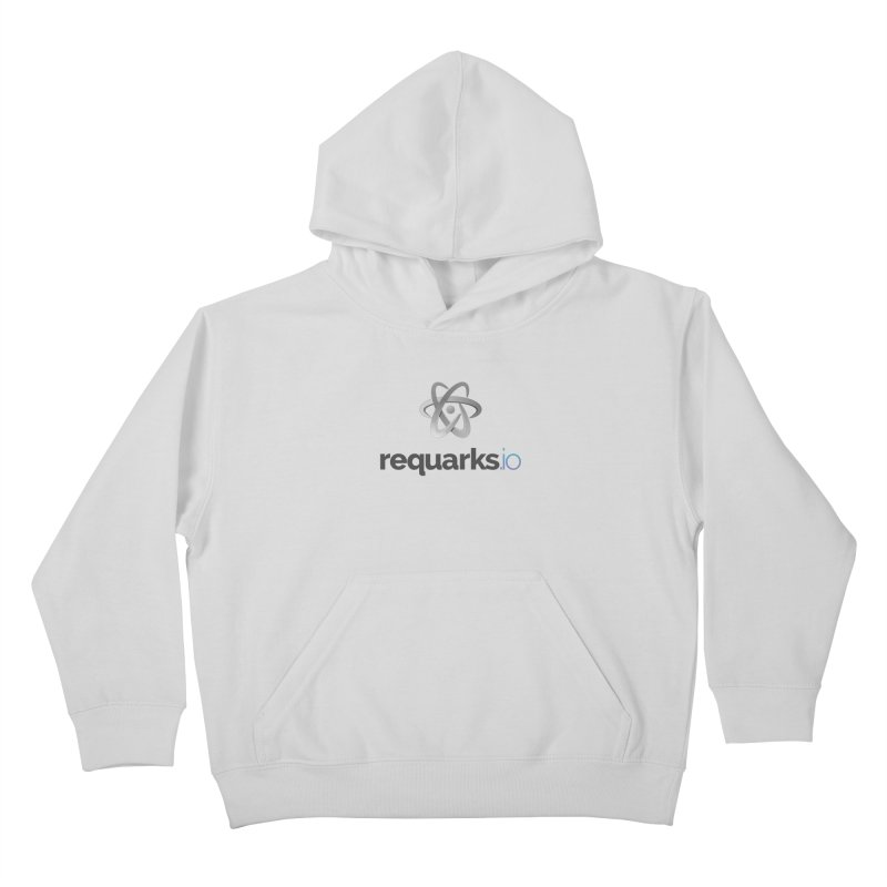 requarks.io Logo Kids Pullover Hoody by Wiki.js Shop