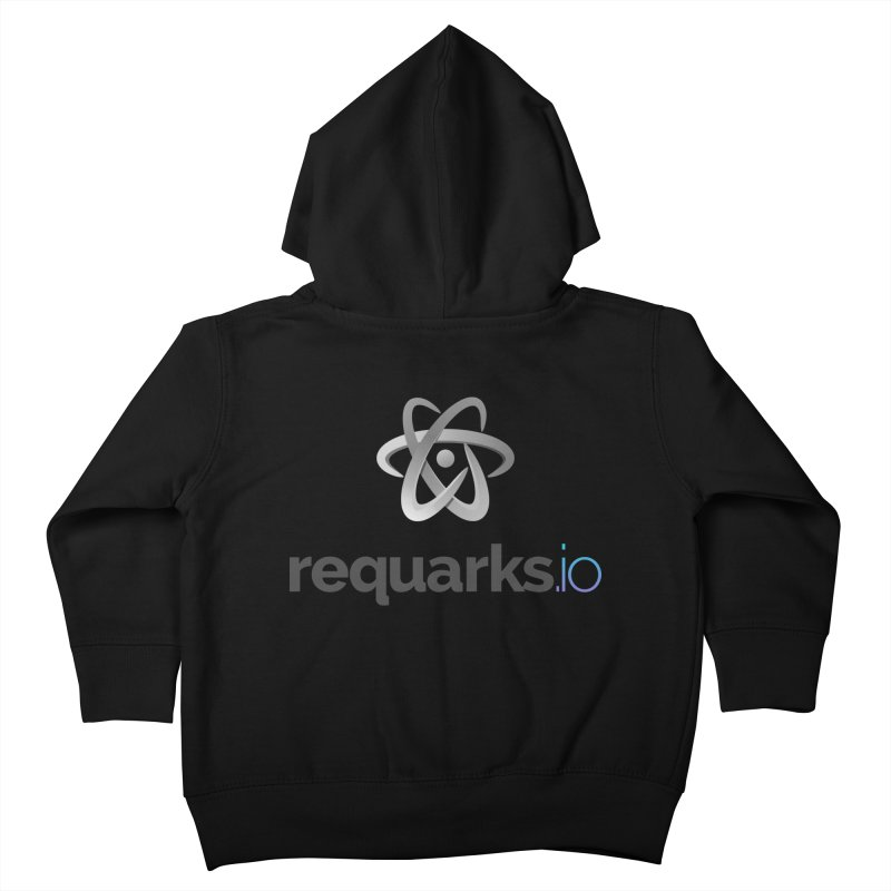 requarks.io Logo Kids Toddler Zip-Up Hoody by Wiki.js Shop