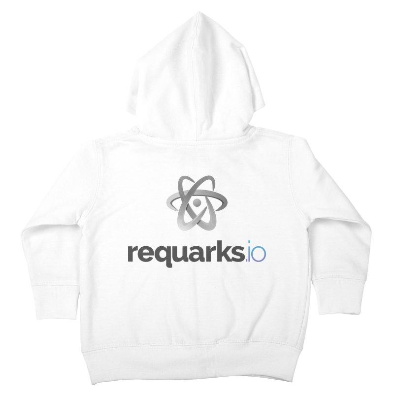 requarks.io Logo Kids Toddler Zip-Up Hoody by Wiki.js Shop
