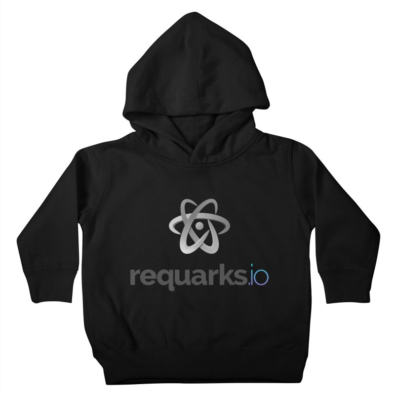 requarks.io Logo Kids Toddler Pullover Hoody by Wiki.js Shop