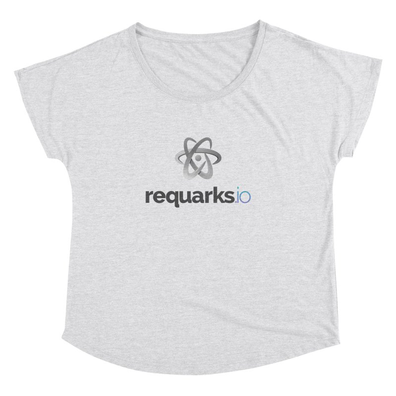 requarks.io Logo Women's Dolman Scoop Neck by Wiki.js Shop
