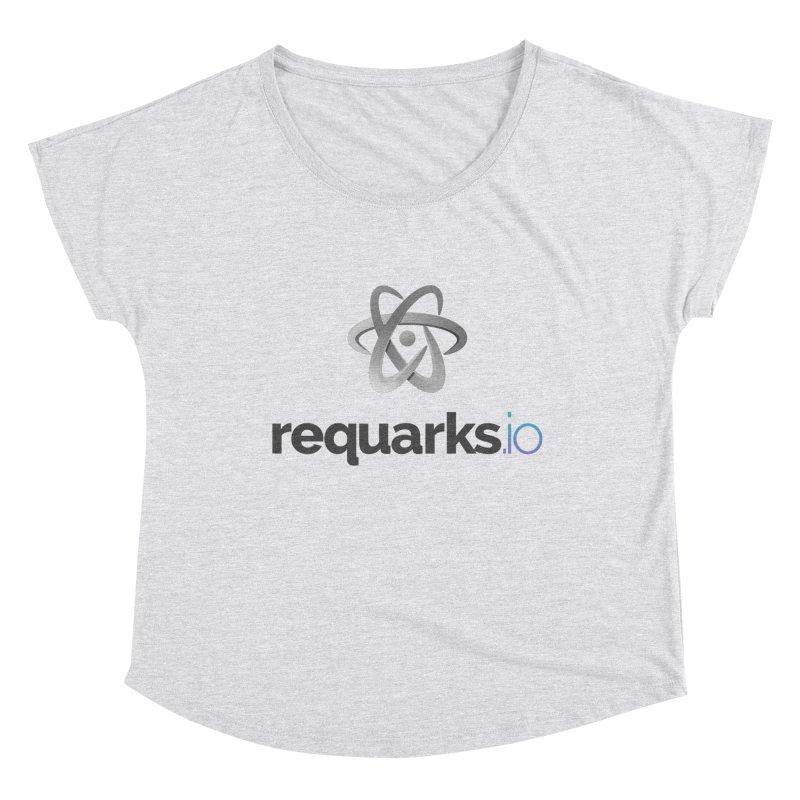 requarks.io Logo Women's Dolman Scoop Neck by Wiki.js Shop