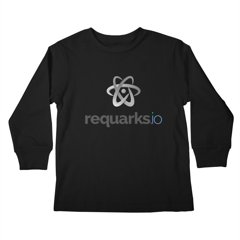 requarks.io Logo Kids Longsleeve T-Shirt by Wiki.js Shop