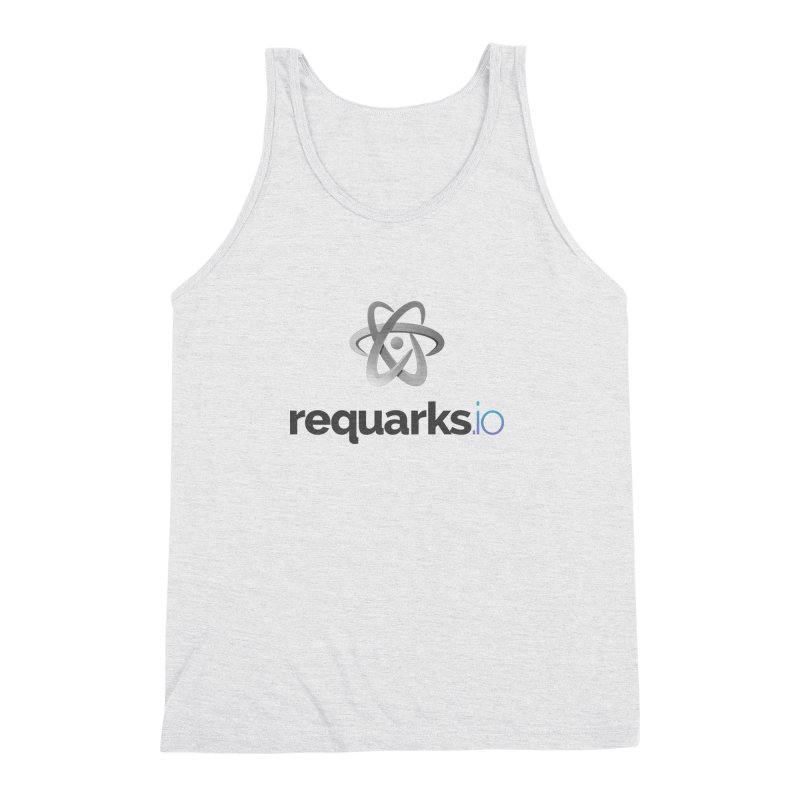 requarks.io Logo Men's Triblend Tank by Wiki.js Shop