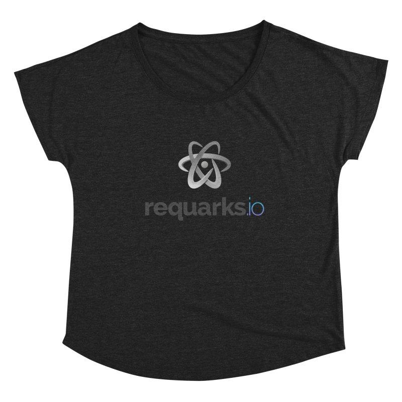 requarks.io Logo Women's Scoop Neck by Wiki.js Shop