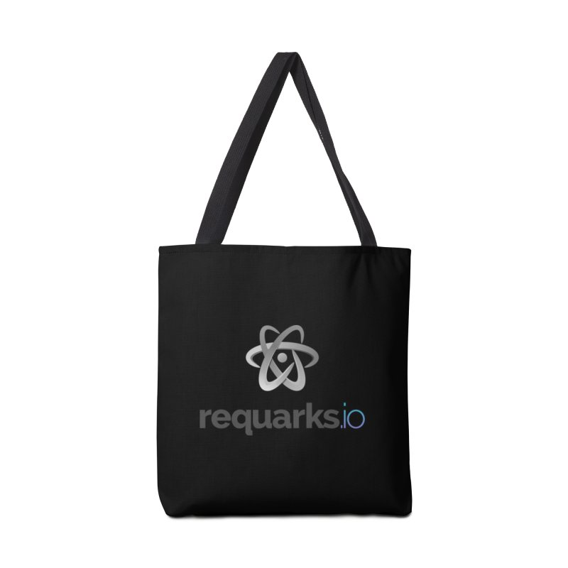 requarks.io Logo Accessories Tote Bag Bag by Wiki.js Shop