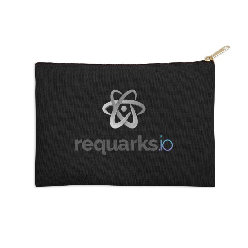 requarks.io Logo Accessories Zip Pouch by Wiki.js Shop