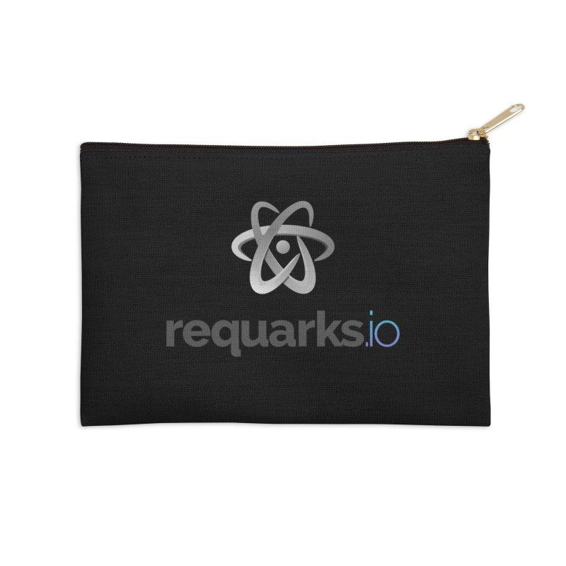 requarks.io Logo Accessories Zip Pouch by Wiki.js Shop