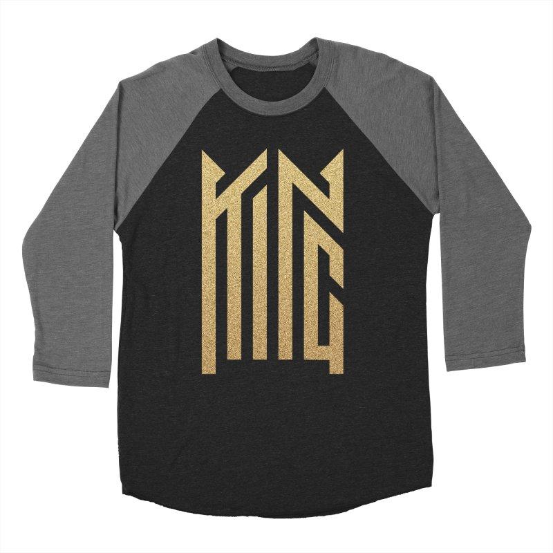 King Women's Baseball Triblend Longsleeve T-Shirt by ARES SHOP