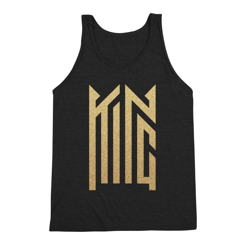 King Men's Triblend Tank by ARES SHOP