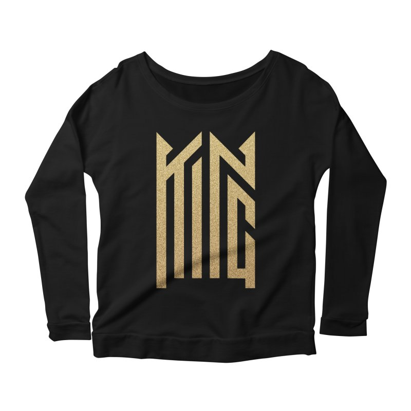 King Women's Scoop Neck Longsleeve T-Shirt by ARES SHOP