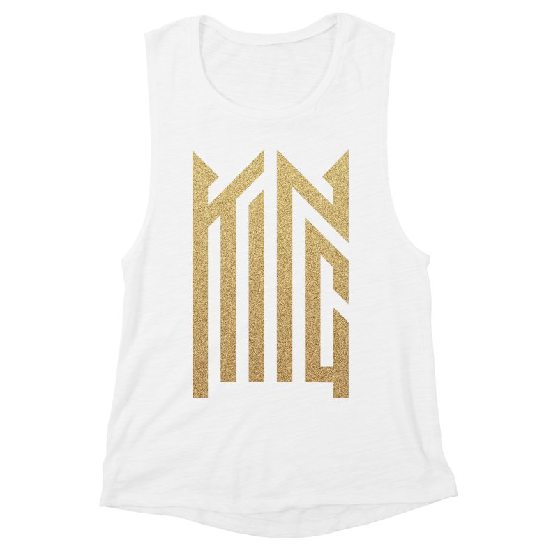 King Women's Muscle Tank by ARES SHOP