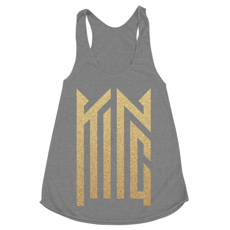 King Women's Racerback Triblend Tank by ARES SHOP