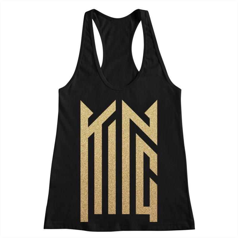 King Women's Racerback Tank by ARES SHOP