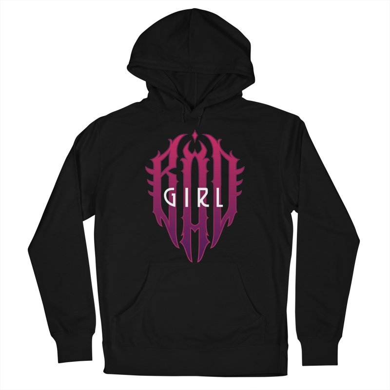 Bad girl Women's Pullover Hoody by ARES SHOP