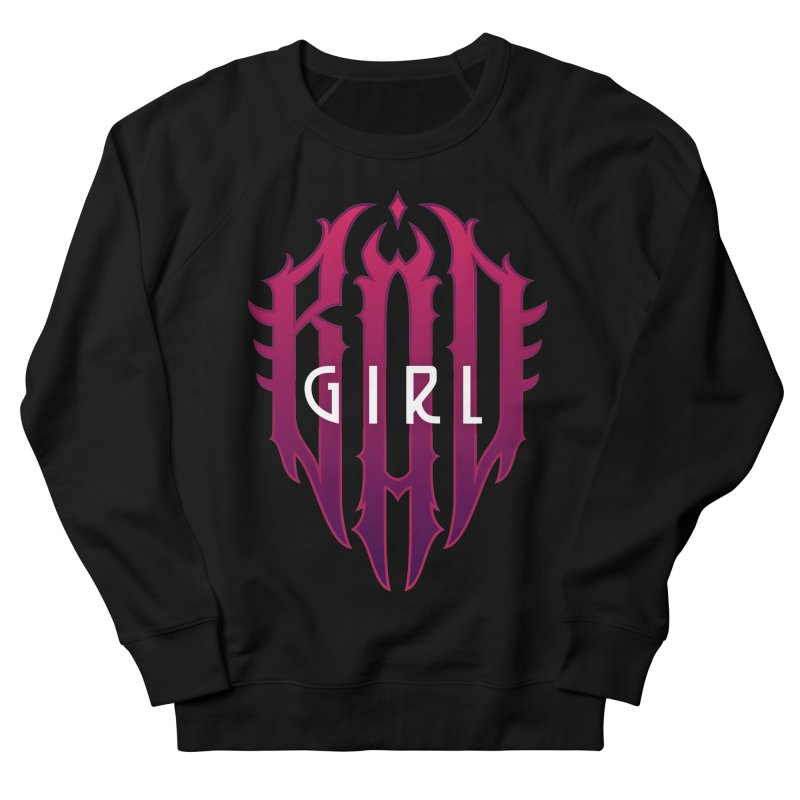 Bad girl Women's French Terry Sweatshirt by ARES SHOP