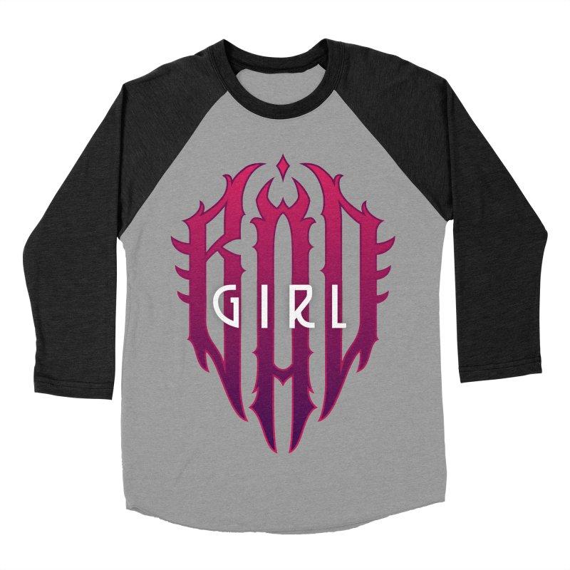 Bad girl Women's Baseball Triblend Longsleeve T-Shirt by ARES SHOP