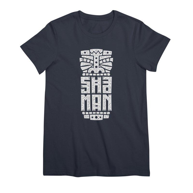 Shaman Women's Premium T-Shirt by ARES SHOP