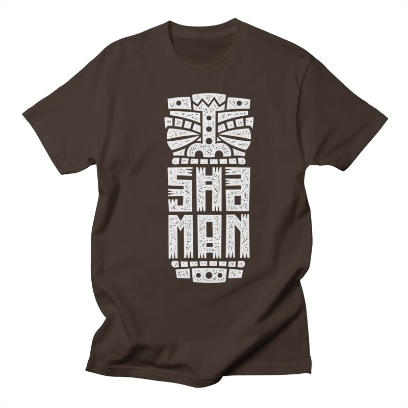 Shaman Men's Regular T-Shirt by ARES SHOP
