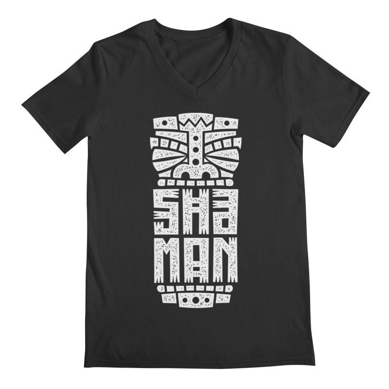 Shaman Men's Regular V-Neck by ARES SHOP
