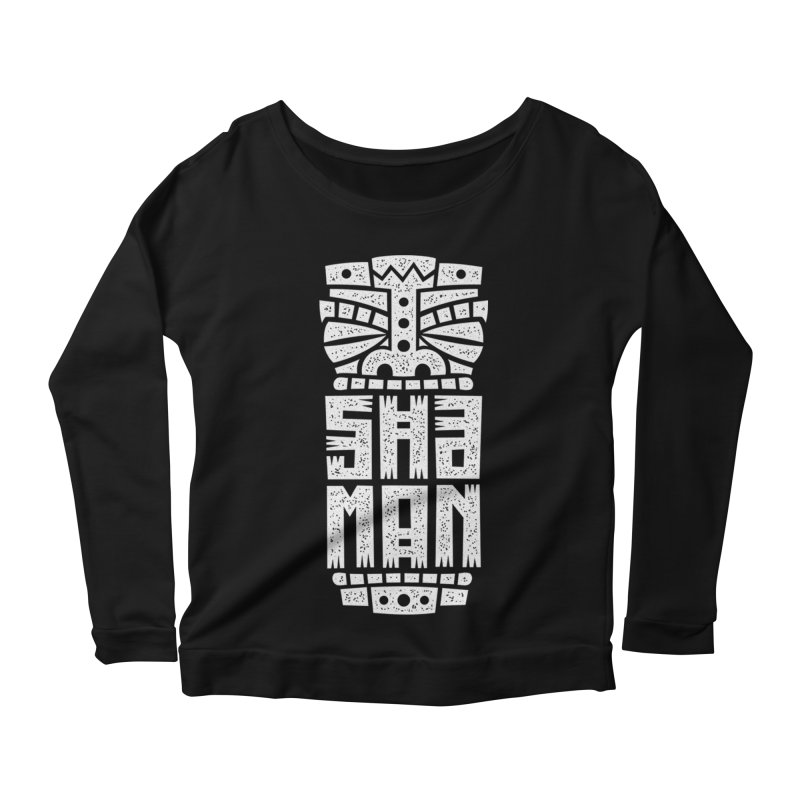 Shaman Women's Scoop Neck Longsleeve T-Shirt by ARES SHOP