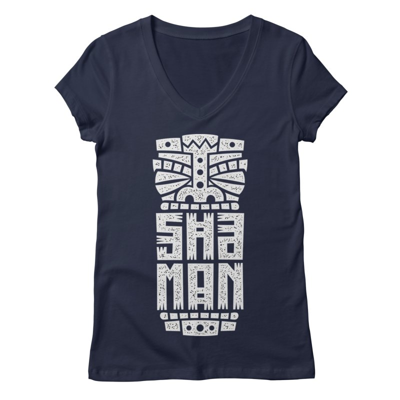 Shaman Women's Regular V-Neck by ARES SHOP
