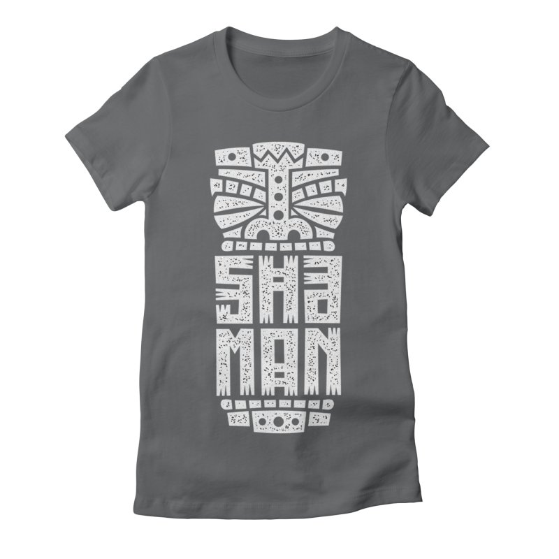 Shaman Women's Fitted T-Shirt by ARES SHOP