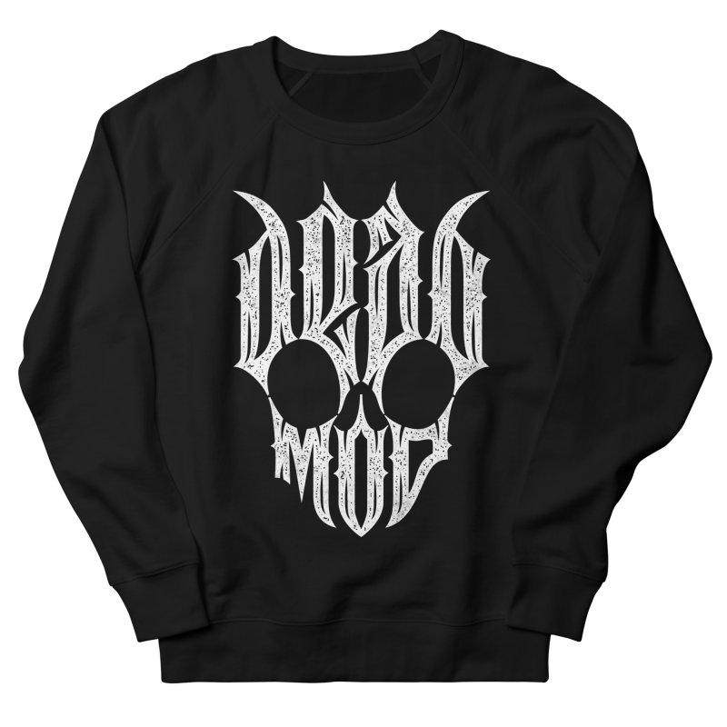 Dead mod Women's French Terry Sweatshirt by ARES SHOP