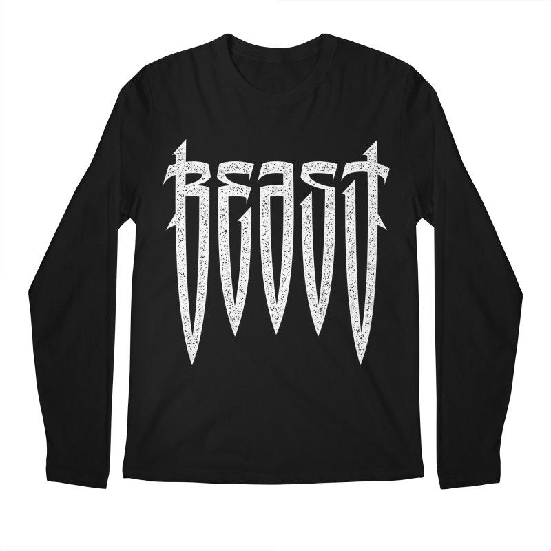 Beast Men's Regular Longsleeve T-Shirt by ARES SHOP