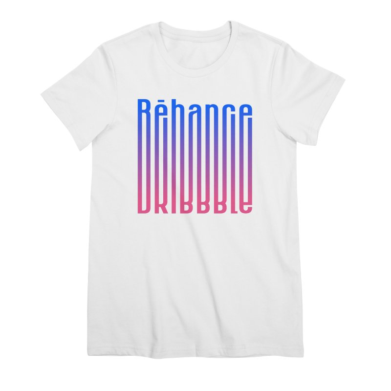 Behance dribbble Women's Premium T-Shirt by ARES SHOP