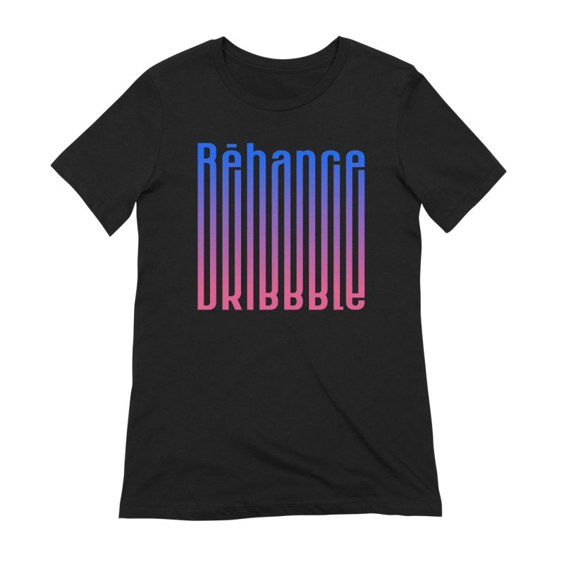 Behance dribbble Women's Extra Soft T-Shirt by ARES SHOP